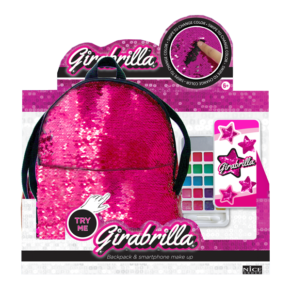 GIRABRILLA ZAINO E SMARTPHONE MAKE UP