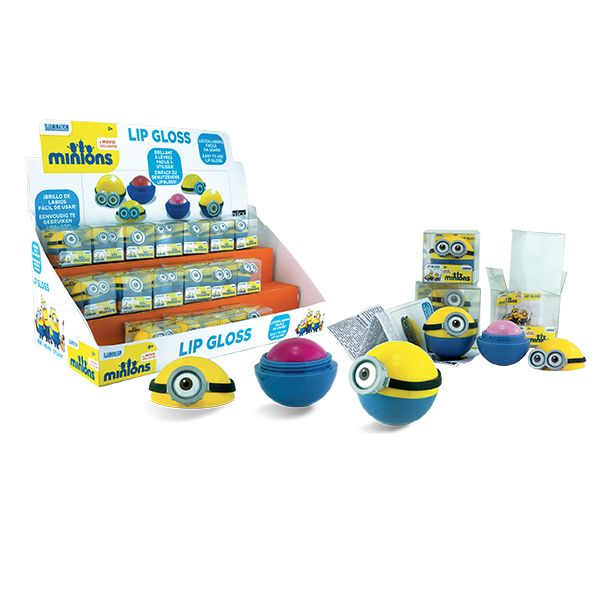 MINION LIP GLOSS BALL